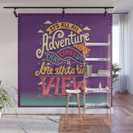 Tightrope Wall Mural
