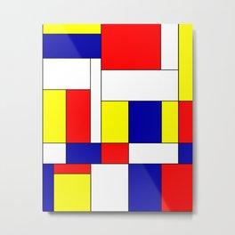 Mondrian #37 Metal Print