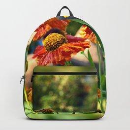Helenium Flowers Backpack