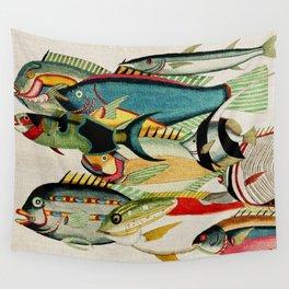 Fantastic Fish Tank Wall Tapestry