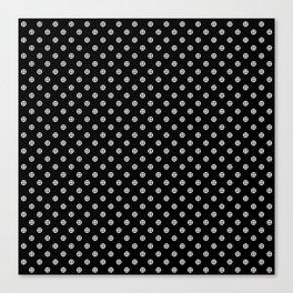 Earth Noir Pattern Canvas Print