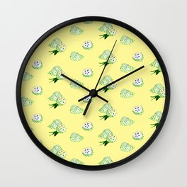 Soursop - Singapore Tropical Fruits Series Wall Clock