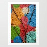 polka dots Art Prints featuring Polka Dots by Shy Photog