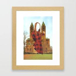 Mujer Catedral Framed Art Print