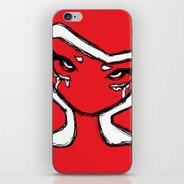 Bitter Red iPhone Skin