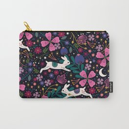 Rabbits in Flight Carry-All Pouch