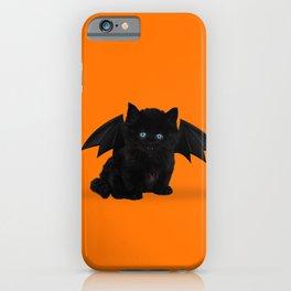 Halloween Kitten iPhone Case