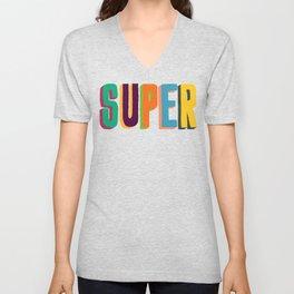 Super Unisex V-Neck