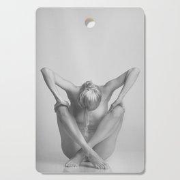 Photograph Nude Woman in erotic pose Cutting Board