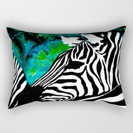 Zebras Rectangular Pillow