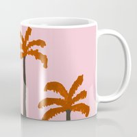 palms Mugs featuring Palms by Georgiana Paraschiv