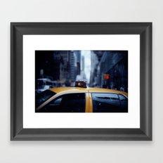 Manhattan Moods Framed Art Print