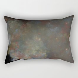 Stained Glass Clouds Rectangular Pillow
