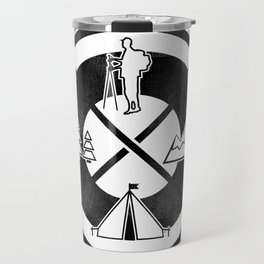 Camping Outdoor Activity Funny Travel Mug