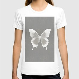 Butterfly on grunge surface T-shirt