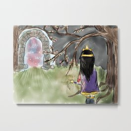 Magic Doorways  Metal Print