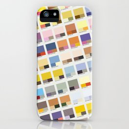 Poke-Pantone 1 (Kanto Region) iPhone Case