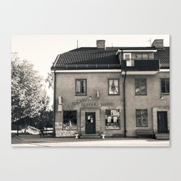 The Old Town Shop Canvas Print