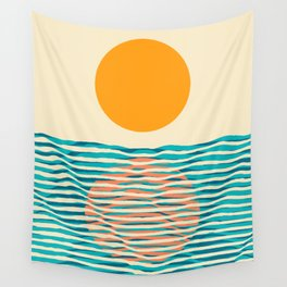 Ocean current Wall Tapestry