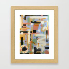 underNEATH #3 Framed Art Print