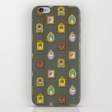 Classy Muffins Pattern iPhone Skin