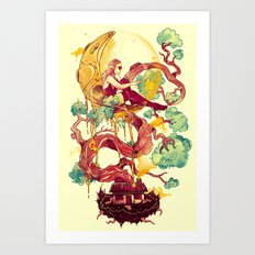 Dreams Astray Art Print