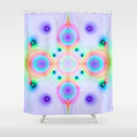jellyfish Shower Curtains featuring Jellyfish by Truly Juel
