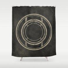 Tron: Identity Disc Shower Curtain