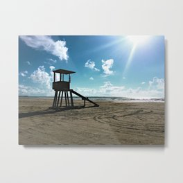 Beach, please... Metal Print