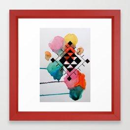 WANDERLUST - BERBER Framed Art Print