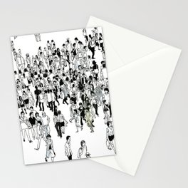 Shibuya Street Crossing Crowd Stationery Cards