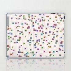 Raining Squares Laptop & iPad Skin