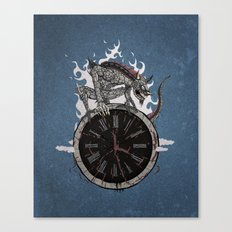 Guardian of Time Canvas Print