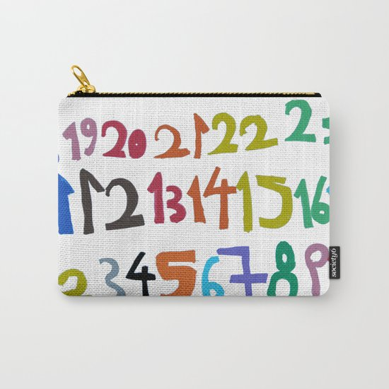 NUMBERS Carry-All Pouch