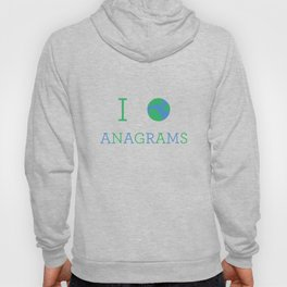 I heart Anagrams Hoody
