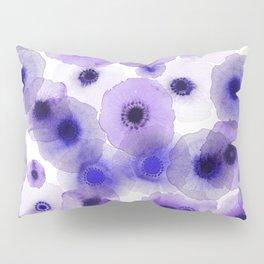 Purple anemones Pillow Sham