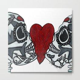Amo y Besos<3 Metal Print