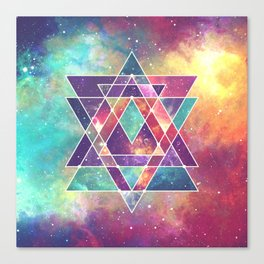 Sacred Geometry (Connection) Canvas Print