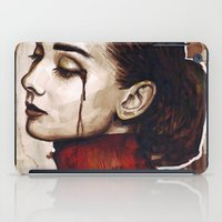audrey iPad Cases featuring Audrey  by Olechka