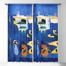 Henri Matisse - The Window at Tangier (La Fenêtre à Tanger) 1912 Artwork Blackout Curtain