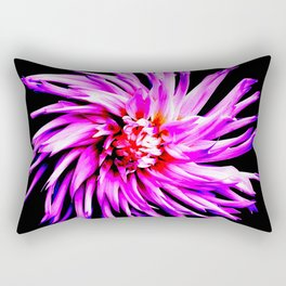Electro Floral Fun Rectangular Pillow