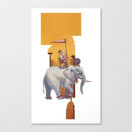 Start Small, Think Big Canvas Print