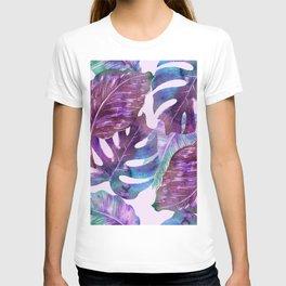Monstera Leaf Art T-shirt