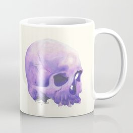 Purple Skull Coffee Mug