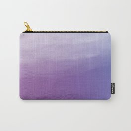Watercolor (purple) Carry-All Pouch