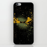mike wrobel iPhone & iPod Skins featuring Mike by Arian Noveir