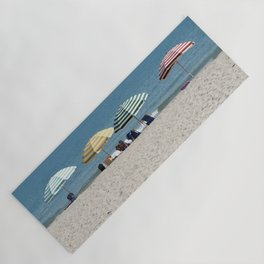 Bald Head Island Beach Umbrellas | Bald Head Island, North Carolina Yoga Mat