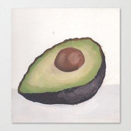 Avocado Half Canvas Print