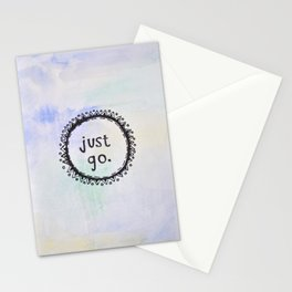 puerta project: just go  Stationery Cards