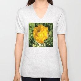 Poppy Bee Unisex V-Neck